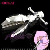 CICILY-菊花盛開 金屬後庭擴肛器