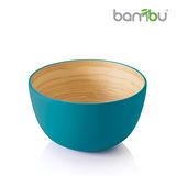 【Bambu】竹風迷你小圓碗 - 孔雀藍