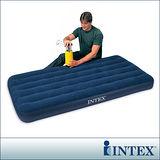 【INTEX】單人加大充氣床墊(寬99cm)