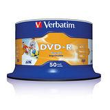 威寶 AZO 16X DVD-R 4.7GB 滿版可印片 (50片)