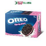 奧利奧OREO巧克力三明治餅乾-草莓口味411g