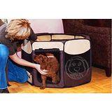美國PET GEAR》八角形摺疊寵物籠(小)6種顏色