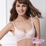 【可蘭霓Clany】舒適軟鋼玫瑰蕾絲邊BC內衣 甜蜜粉 6620-31
