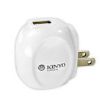 KINYO輕巧型 USB 充電器 CUH-210