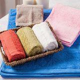 MORINO摩力諾 美國棉素色緞條浴巾 (72*138cm)