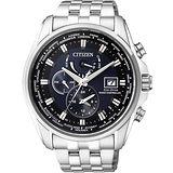 CITIZEN Eco-Drive 競速賽車電波計時腕錶-藍 AT9031-52L