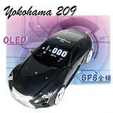 Yokohama 209 超跑 GPS全頻衛星定位雷達 測速器 GPS-209 .