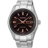 SEIKO Presage 4R36 都會時尚機械腕錶-咖啡 4R36-03H0C