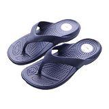 母子鱷魚氣墊夾腳拖N30-藍
