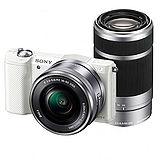 SONY a5100Y 16-50mm+55-210mm 雙鏡組(公司貨)-送32GB、中腳架、讀卡機、清潔組、專用座充