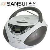 福利品-SANSUI山水 CD/MP3/USB/AUX手提式音響 SB-86N