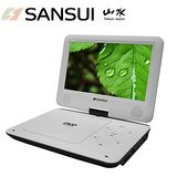 網購嘉年華 SANSUI山水 9吋HI-HD數位電視行動影音DVD/USB播放機 JPD-18