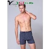 VICTORYH雙色紗針織平口褲(M~XL)