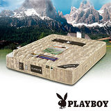 【PLAYBOY】二線1350顆獨立筒床墊 加大