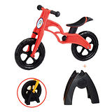 POPBIKE 兒童充氣輪胎滑步車-AIR充氣胎+置車架
