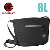 【瑞士 MAMMUT 長毛象】Shoulder Bag Round 8L 側背包 00570-0001 黑