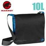【瑞士 MAMMUT 長毛象】Shoulder Bag Urban 10L 側背電腦包 00600-0728 黑藍