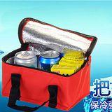 Bunny馬卡龍繽紛保冰保溫袋便當袋野餐袋(二入)