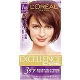 巴黎萊雅優媚霜三重護髮雙管染髮霜-淺紅銅棕