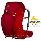 【美國 GREGORY】新款 Z65 專業健行登山背包(M/65L) 火花紅 74565