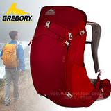 【美國 GREGORY】升級新款 Z35 專業輕量級健行登山背包35L(M號) 74545 紅