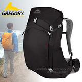 【美國 GREGORY】升級新款 Z35 專業輕量級健行登山背包35L(M號) 74547 黑