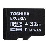 TOSHIBA EXCERIA 32GB microSDXC UHS-I U3瞬速卡讀95寫60(平行輸入)