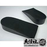 JHS杰恆社鞋墊款52增高黑色半墊三公分一對sd52