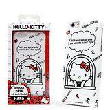 日本限定SANRIO【Kitty的窗外笑容】iphone6硬式手機背蓋