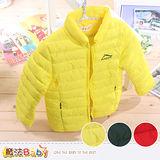 魔法Baby~韓版輕量人工羽絨衣.保暖外套.羽絨短外套~k37807