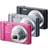 SONY DSC-W810高畫質數位相機(公司貨)-加送SDHC32G記憶卡+原廠電池(含標配共2顆)+專用電池+專用座充+清保組+讀卡機