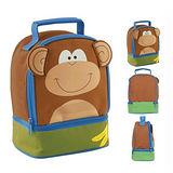 美國【Stephen Joseph】童趣造型保溫餐袋(猴子)