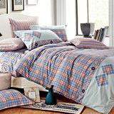 RODERLY 布依時代 純棉 雙人四件式兩用被床包組