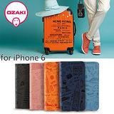Ozaki O!Coat Travel iPhone 6 旅遊系列 側翻式附卡槽護皮套