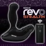英國Nexus-Revo 3 雷沃三代 無線遙控 7X2段變頻 G點前列腺旋轉按摩棒-黑