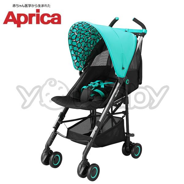 愛普力卡 Aprica NEW STICK 挑高型單向嬰幼兒手推車 -水藍風