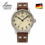 朗坤LACO 德國海軍系列 背透自動機械表 男錶 861611
