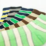 法國名牌條紋運動氣墊襪 (24~26cm)