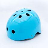 【D.L.D多輪多】專業直排輪 溜冰鞋 自行車 安全頭盔 藍色