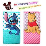 迪士尼授權正版 Disney iPhone 6 4.7吋 磁力立體手機皮套(史迪奇/維尼款)