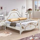 Bernice - 伊莉莎白法式5尺標準雙人床架
