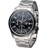 雅柏 ALBA 競速時尚 計時腕錶 VD57-X050N AM3161X1