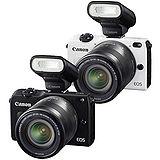 Canon EOS M2+18-55mm+90EX閃光燈(公司貨).-送32G記憶卡+相機包+LPE12專用鋰電池+清潔組+保護貼