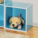 創意收納櫃-粉藍(36.5*36.5*30cm)
