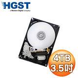 HGST 4TB 3.5吋 7200轉 64M快取 SATA3 NAS 硬碟(H3IKNAS4003272SA)