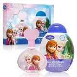 Disney 迪士尼 Frozen 冰雪奇緣 淡香水禮盒 (淡香水100ml + 沐浴 洗髮精300ml)