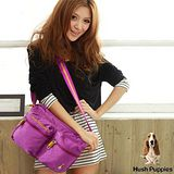 HUSH PUPPIES CHIC系列大側背包 -桃紫