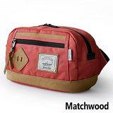 MATCHWOOD Density Waisy Bag 腰包 -紅色