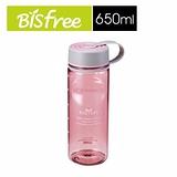 樂扣樂扣柔彩樂活優質水壺650ML粉紅色/無濾網-1A01-ABF603LPO.