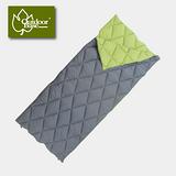 【Outdoorbase】《超輕耐寒款》綠葉方舟-Thermolite 七孔保暖睡袋(可雙拼分解,多拼)-250g/m2 蓄熱透氣化纖睡袋.中空纖維.情人睡袋 24363